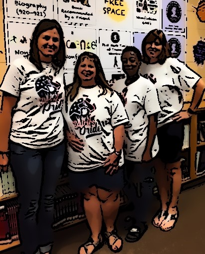 Mrs. McCutchen, Mrs. J-T, Mrs. White, Mrs. Ruether