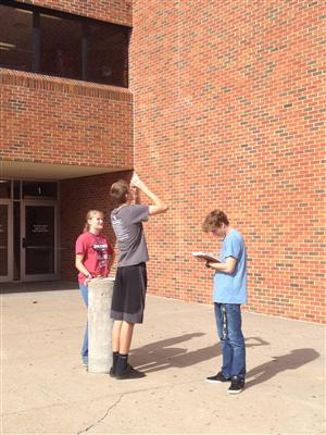 Trigonometry Outdoor Lab