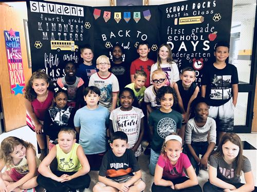 Mrs. LaFlamme's 2018-2019 Fourth Grade Class