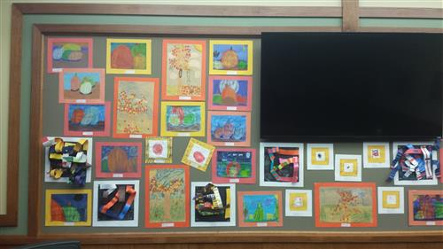 The October Board Office Display part 1