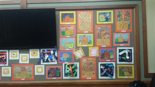 October Board Office Display Part 2