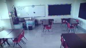 Back of the classroom