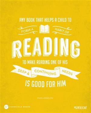 Make reading a habit!