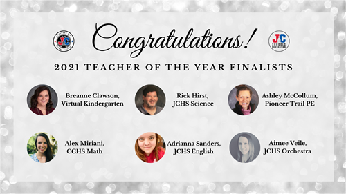 Teacher of the Year finalists 2021