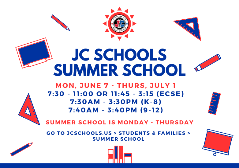 JC Schools Summer School Image