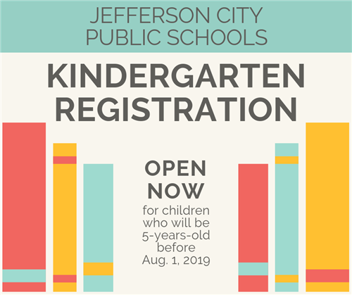 2019 Kindergarten Registration open now