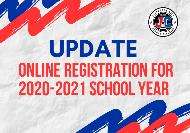 ONLINE REGISTRATION UPDATE