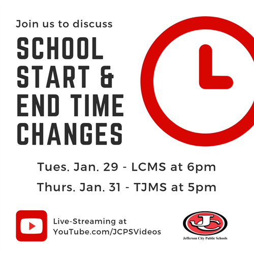 School Start and End Time Change discussions