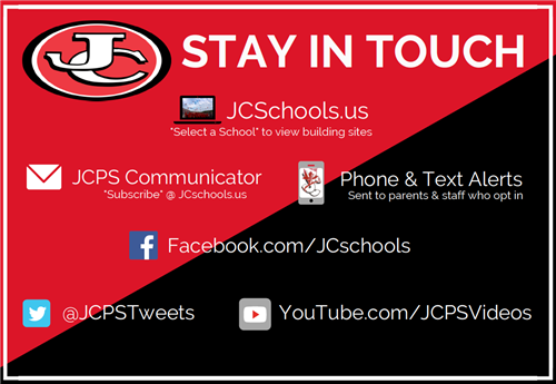 Stay in Touch with JCPS