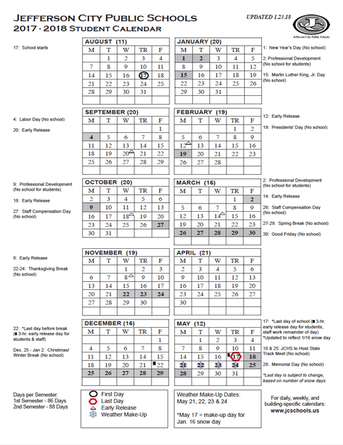Yearly district calendar printable 2017 18 student calendar jcps 2017 18 calendar revised sciox Choice Image